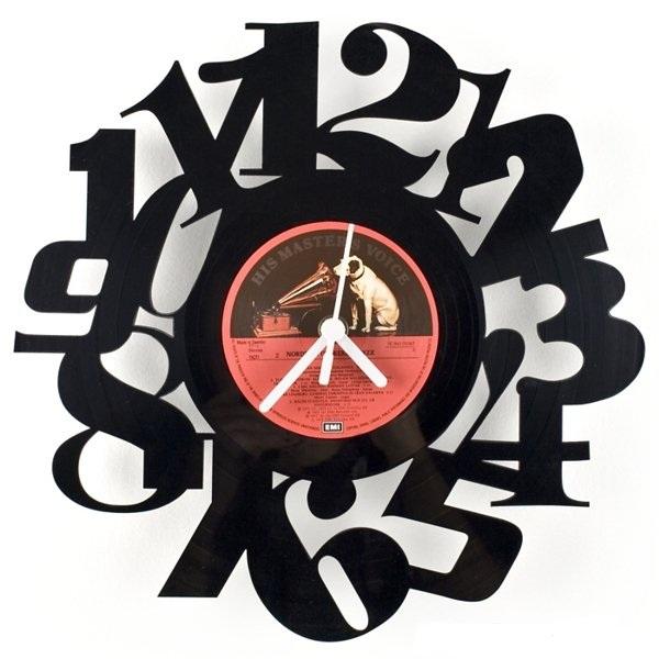 Часы из тарелки своими руками фото 768