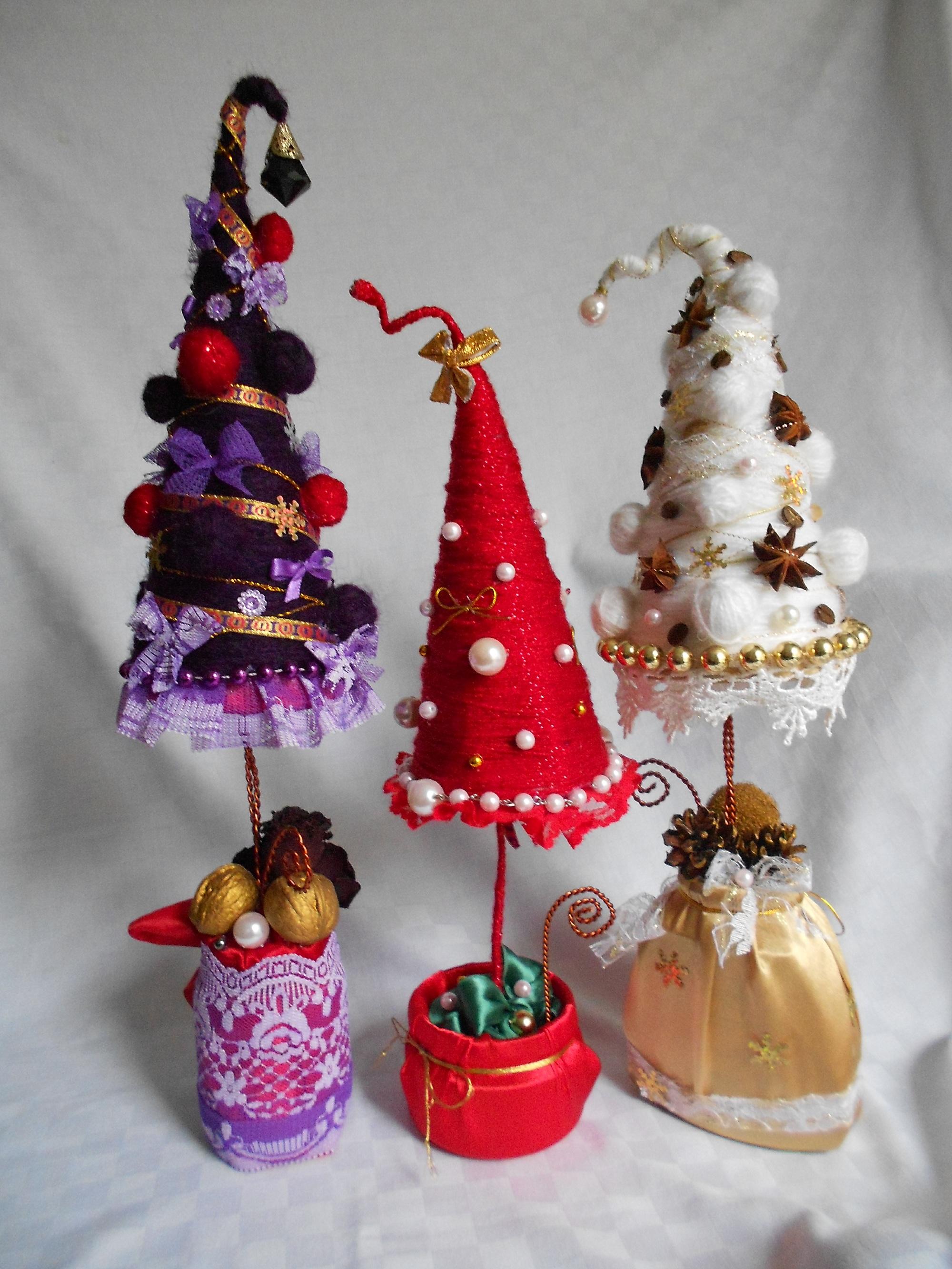 Подарки к новому году елочки
