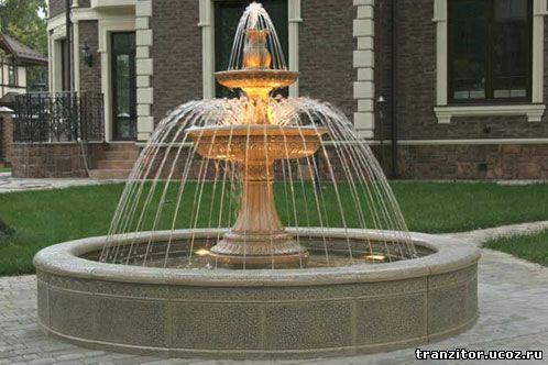 В подборе насоса для фонтана