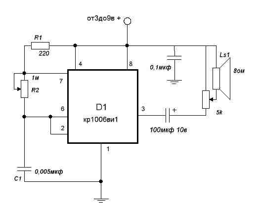 R2 частоты от 200гц до 62кГц