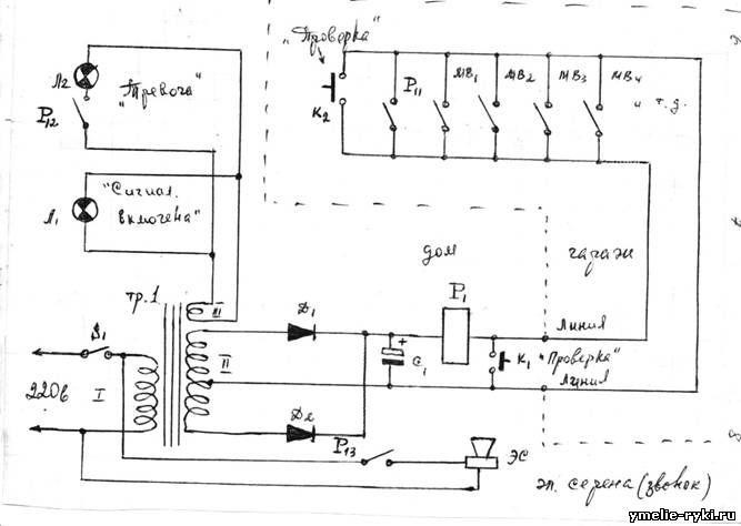 ЭС - электрическая сирена