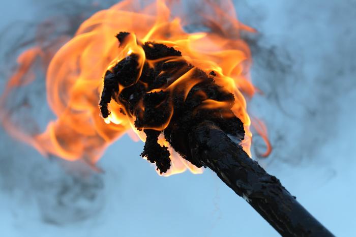 Как сделать факел своими руками 62