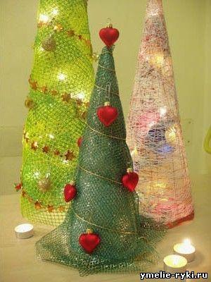новогодние, елки