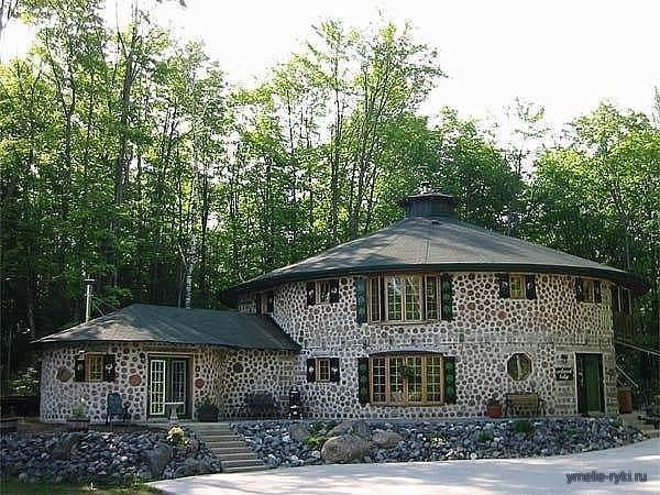 Готовый дом из дров